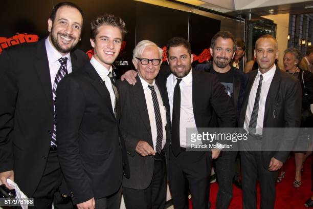 Henry Joost Albert Maisels Brett Ratner Andrew Jarecki and Marc Smerling attend CATFISH The Premiere at Paris Theatre on September 13 2010 in New...