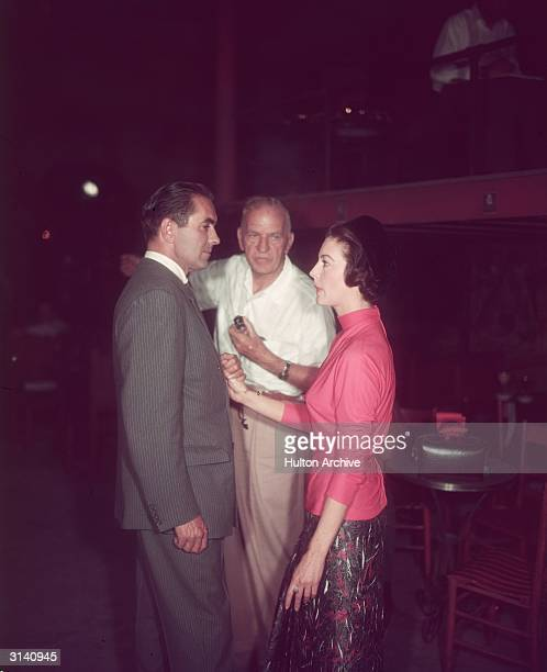 Henry King directs Ava Gardner and Tyrone Power in 'The Sun Also Rises' based on the novel by Ernest Hemingway