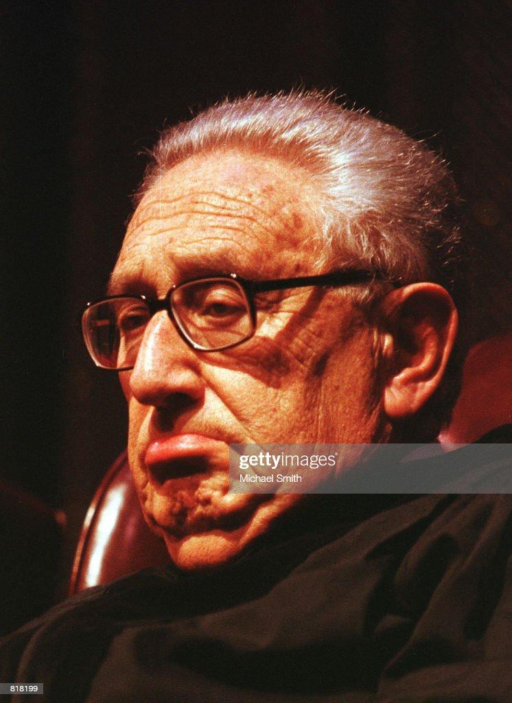 Henry Kissinger... : News Photo