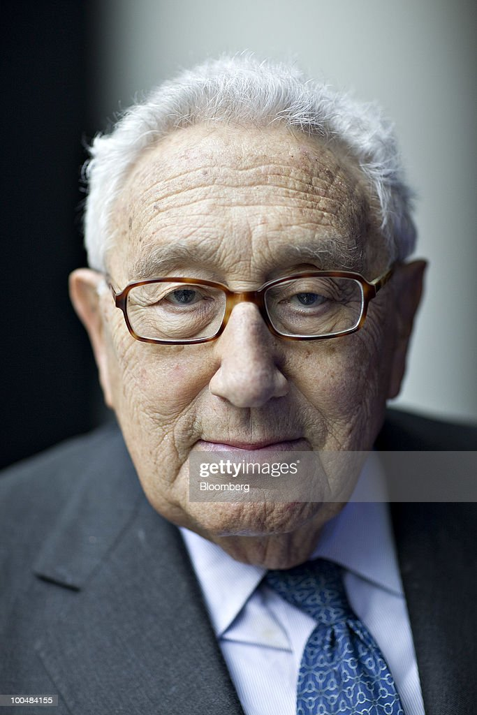 Henry Kissinger, former U.S. secretary of state, stands for a portrait in New York, U.S., on Monday, May 24, 2010. Kissinger, 83, was secretary of state from 1973-1977 under presidents Richard Nixon and Gerald Ford. Photographer: Daniel Acker/Bloomberg via Getty Images