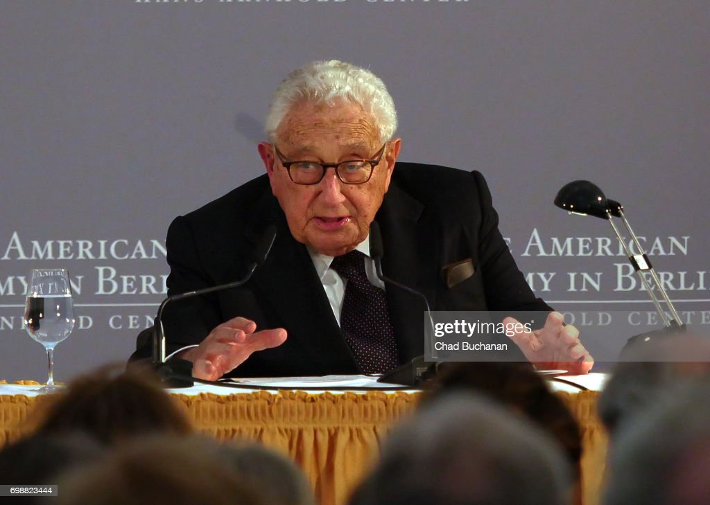 American Academy In Berlin Awards 2017 Kissinger Prize : News Photo