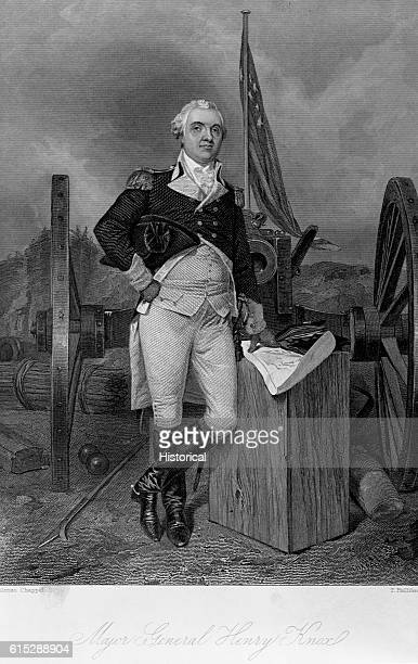 Henry Knox a Revolutionary War general became renowned for his capture of 55 British cannon at Fort Ticonderoga He transported them from New York to...
