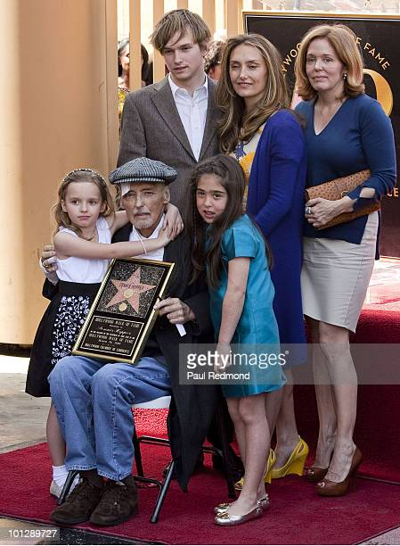 Henry Lee Hopper Ruthanna Hopper and unidentified guest Gallen Hopper Dennis Hopper and unidentified guest at a ceremony honoring Dennis Hopper with...