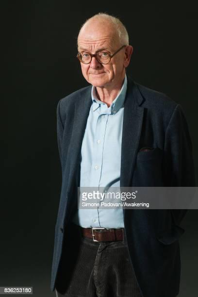 Henry Marsh attends a photocall during the Edinburgh International Book Festival on August 21 2017 in Edinburgh Scotland