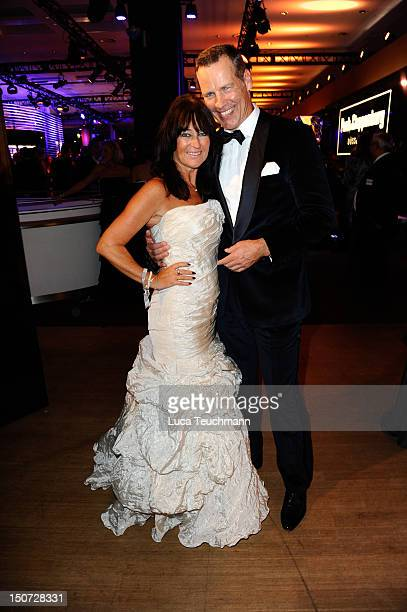 Henry Maske and Manuela Maske attend the Bambi Award 2011 aftershow party at the Rhein-Main-Hallen on November 10, 2011 in Wiesbaden, Germany.