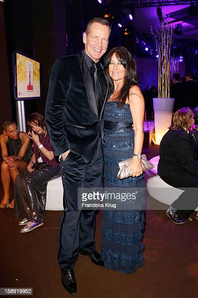 Henry Maske and Manuela Maske attend the 'BAMBI Awards 2012' at the Stadthalle Duesseldorf on November 22 2012 in Duesseldorf Germany