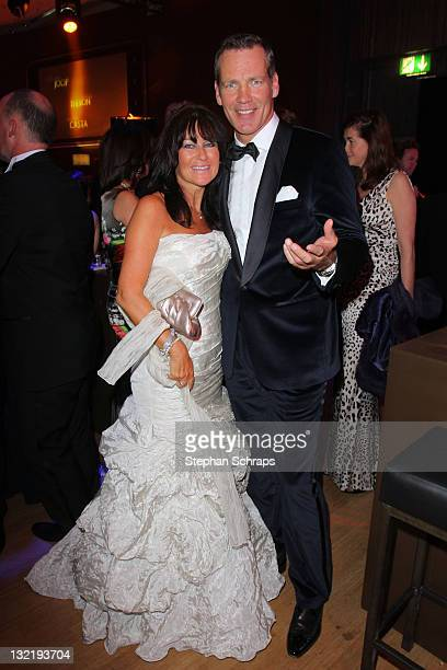Henry Maske and wife Manuela attend the Bambi Award 2011 aftershow party at the RheinMainHallen on November 10 2011 in Wiesbaden Germany
