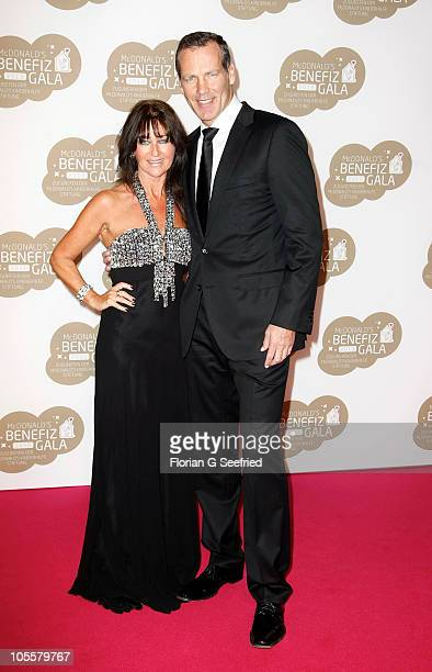 Henry Maske and wife Manuela Maske attend the 7th McDonald's Charity Gala at the Station on October 16, 2010 in Berlin, Germany.