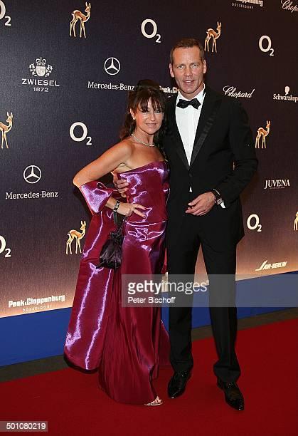 Henry Maske , Ehefrau Manuela, Bambi-Verleihung, Congress Centrum, Düsseldorf, Nordrhein-Westfalen, Deutschland, Europa, Preisverleihung, roter...