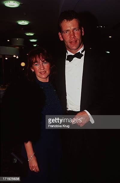 Henry Maske und Ehefrau Manuela Bei Unesco Gala In Düsseldorf