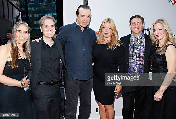 'Henry Me' director Barrett Esposito actor Chazz Palminteri actress Gianna Ranaudo and 'Henry Me' producer Joseph Avallone attend the 'Henry Me' New...