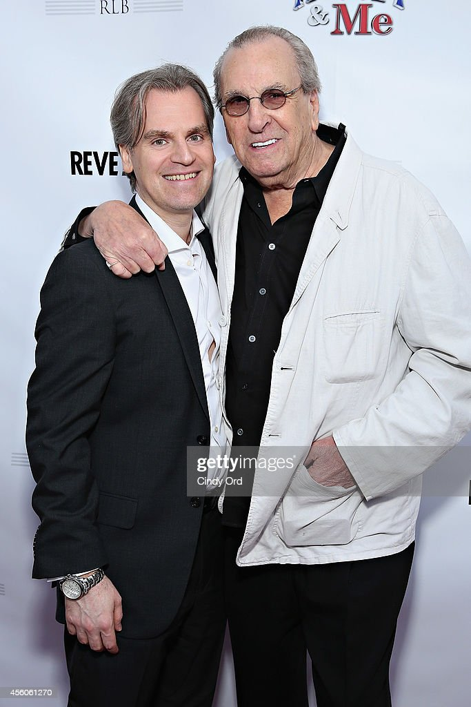 'Henry & Me' director Barrett Esposito and actor Danny Aiello attend the 'Henry & Me' red carpet special charity screening on September 24, 2014 in Greenwich, Connecticut.