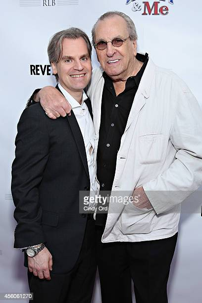 'Henry Me' director Barrett Esposito and actor Danny Aiello attend the 'Henry Me' red carpet special charity screening on September 24 2014 in...