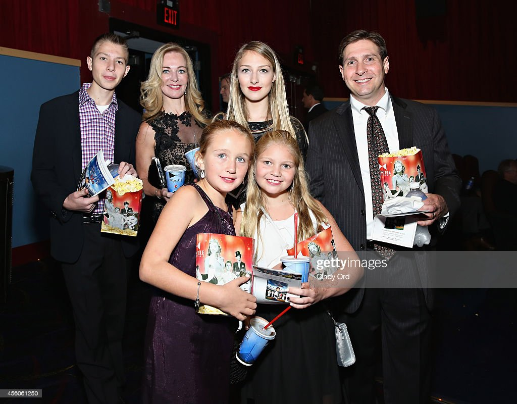 'Henry & Me' producer Joseph Avallone (R) and family attend the 'Henry & Me' red carpet special charity screening on September 24, 2014 in Greenwich, Connecticut.