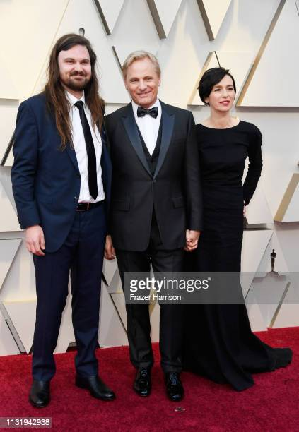 Henry Mortensen Viggo Mortensen and Ariadna Gil attend the 91st Annual Academy Awards at Hollywood and Highland on February 24 2019 in Hollywood...