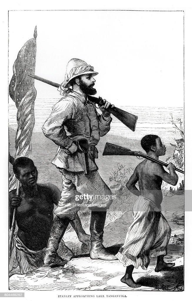 Henry Morton Stanley Approaching Lake Tanganyika 19th Century : Fotografía de noticias