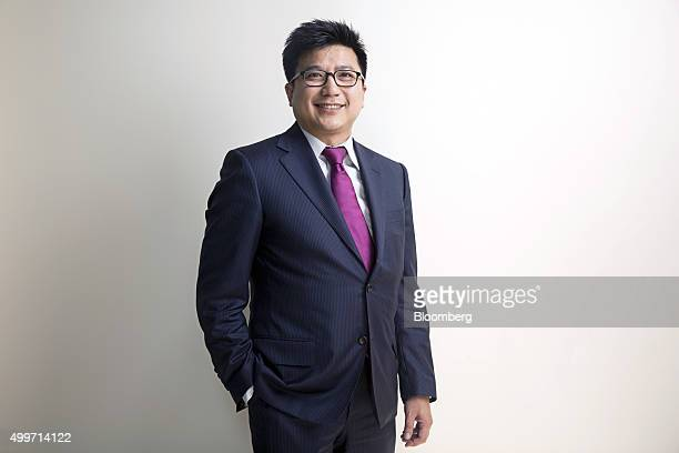 Henry Nguyen managing partner of IDG Ventures Vietnam Management Co poses for a photograph following a Bloomberg Television interview at the...