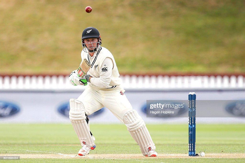New Zealand v Bangladesh - 1st Test: Day 4 : News Photo