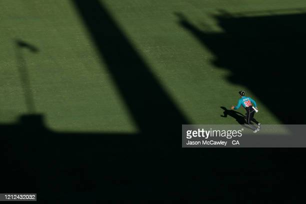 Henry Nicholls of New Zealand fields during game one of the One Day International series between Australia and New Zealand at Sydney Cricket Ground...