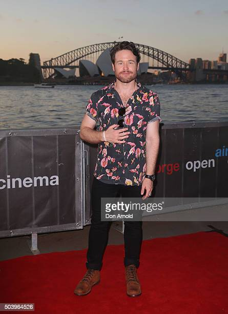 Henry Nixon arrives ahead of St.George OpenAir Cinema Opening Night and Sydney Premiere of LOOKING FOR GRACE on January 8, 2016 in Sydney, Australia.