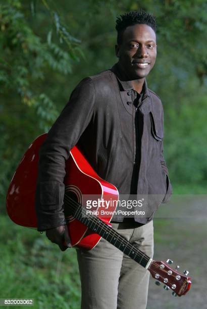Henry Olonga, singer and former ZImbabwe international cricketer photographed at Staines, England, 4th October 2006.