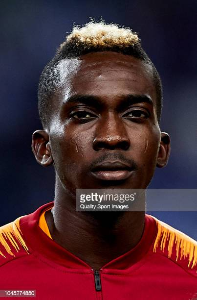 Henry Onyekuru of Galatasaray looks on prior to the Group D match of the UEFA Champions League between FC Porto and Galatasaray at Estadio do Dragao...