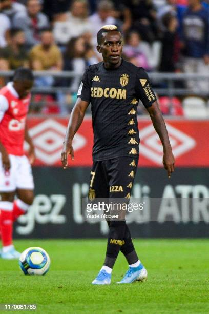 Henry ONYEKURU of Monaco during the Ligue 1 match between Reims and Monaco on September 21, 2019 in Reims, France.