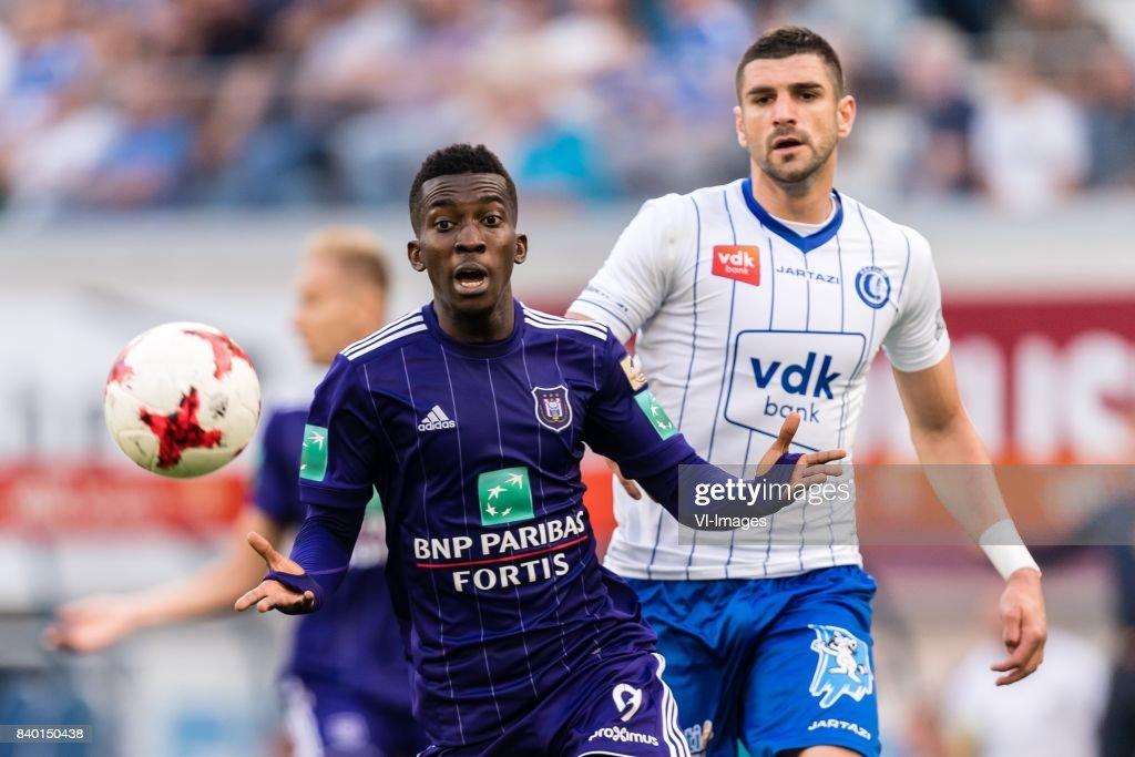 """""""KAA Gent v RSC Anderlecht"""" : News Photo"""