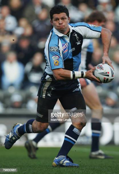 Henry Paul of Harlequins RL in action during the engage Super League match between Hull FC and Harlequins RL at the KC Stadium on February 17, 2008...