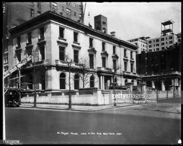 Henry Phipps House 1063 Fifth Avenue at 87th Street New York New York 1927