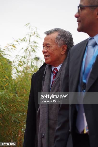 Henry Puna Prime Minister of the Cook Islands arriving to the United Nations Framework Convention on Climate Change UNFCCC COP23