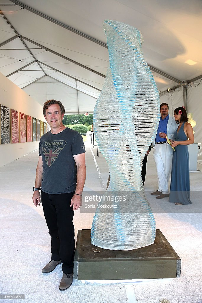 Henry Richardson attends Domingo Zapata's A Contemporary Salon event>> on August 17, 2013 in Watermill, New York.