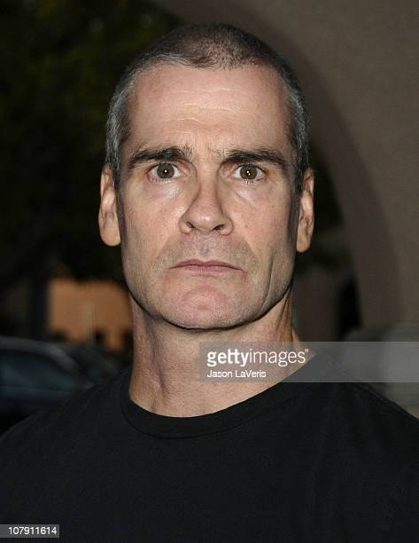 Henry Rollins attends a panel at the 2011 Winter TCA at Langham Hotel on January 5 2011 in Pasadena California