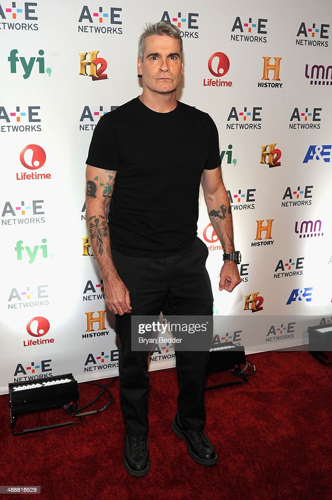 Henry Rollins attends the 2014 A+E Networks Upfront on May 8, 2014 in New York City.