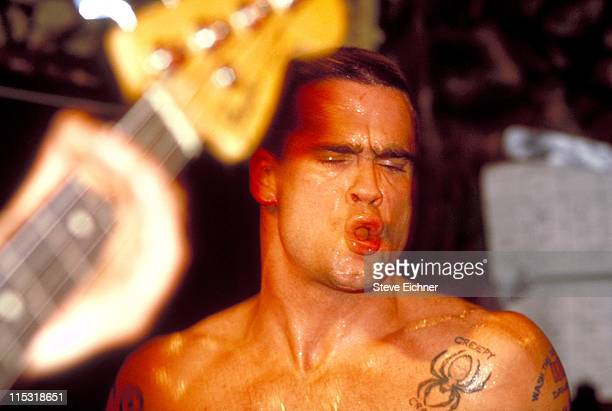 Henry Rollins during Henry Rollins in Concert at CBGB's 1992 at CBGB's in New York City New York United States