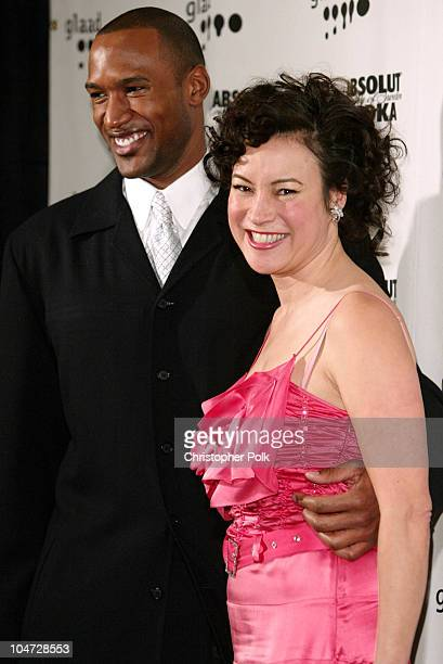 Henry Simmons and Jennifer Tilly during 14th Annual GLAAD Media Awards Los Angeles at Kodak Theatre in Hollywood, California, United States.