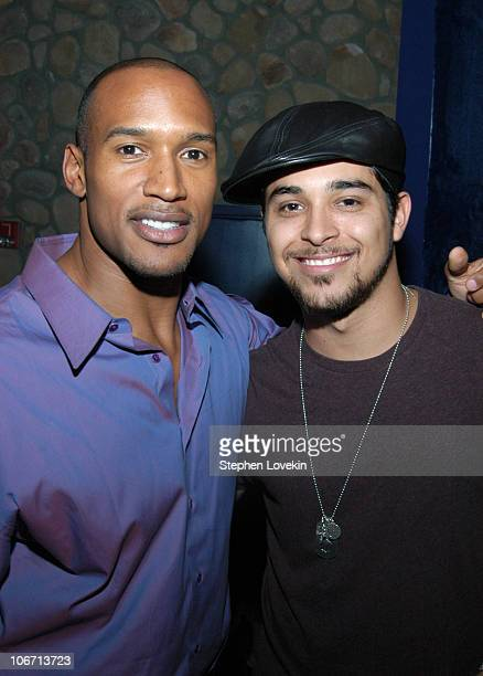 Henry Simmons and Wilmer Valderrama during The Gersh Agency Celebrates New York Upfronts with LA Confidential Hamptons and Gotham Magazines at Quo in...