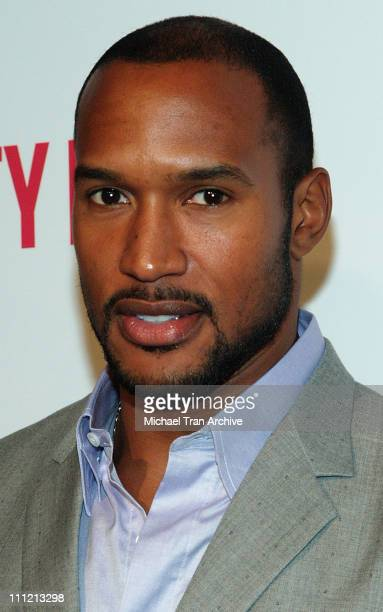 Henry Simmons at DKNY Jeans Presents Vanity Fair in Concert