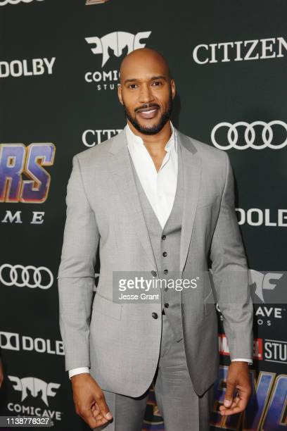 Henry Simmons attends the Los Angeles World Premiere of Marvel Studios' Avengers Endgame at the Los Angeles Convention Center on April 23 2019 in Los...