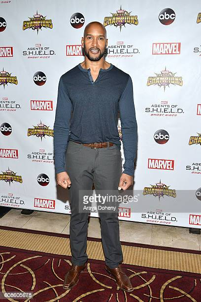 Henry Simmons attends the premiere of ABC's Agents Of SHIELD Season 4 at Pacific Theatre at The Grove on September 19 2016 in Los Angeles California