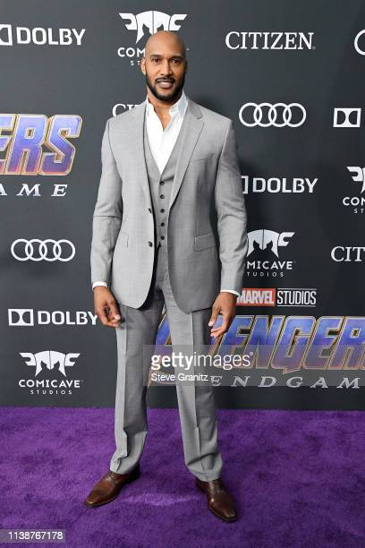 Henry Simmons attends the world premiere of Walt Disney Studios Motion Pictures Avengers Endgame at the Los Angeles Convention Center on April 22...