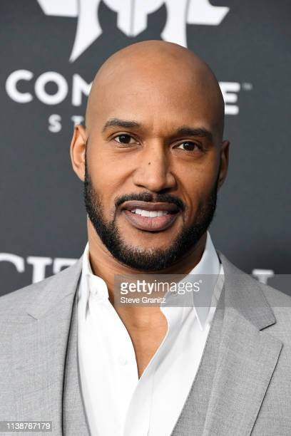 Henry Simmons attends the world premiere of Walt Disney Studios Motion Pictures 'Avengers Endgame' at the Los Angeles Convention Center on April 22...