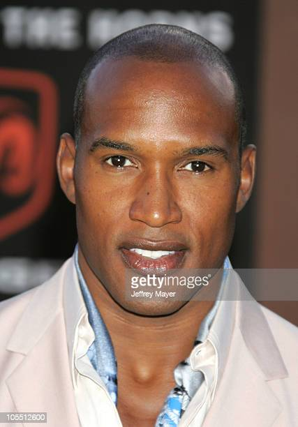 Henry Simmons during 10th Annual Soul Train Lady of Soul Awards Arrivals at Pasadena Civic Auditorium in Pasadena California United States