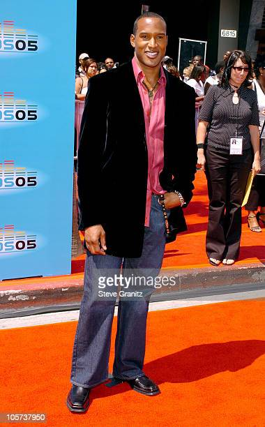 Henry Simmons during 2005 BET Awards Arrivals at Kodak Theatre in Hollywood California United States