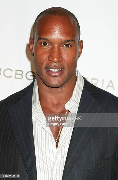Henry Simmons during 2005 Fashion Rocks Red Carpet Arrivals at Radio City Music Hall in New York City New York United States