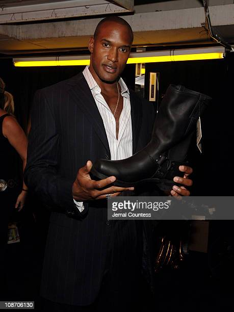 Henry Simmons during 2005 Fashion Rocks Talent Gift Lounge Produced by On 3 Productions Day 2 at Radio City Music Hall in New York City New York...
