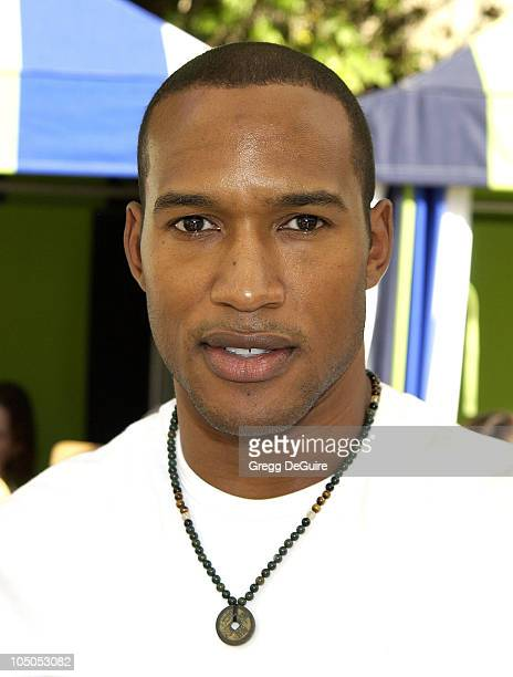 Henry Simmons during 2nd Annual Danny Seo's SuperNatural Super Suite at The W Hotel in Westwood California United States