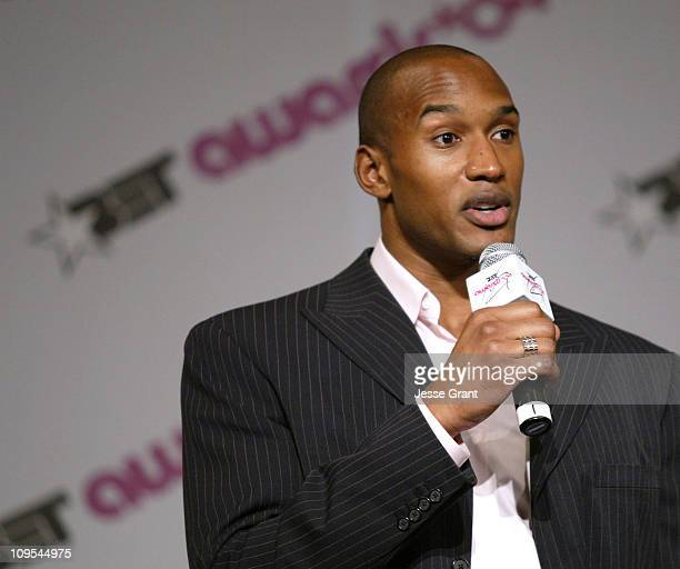 Henry Simmons during 4th Annual BET Awards Media Room at Kodak Theatre in Hollywood California United States