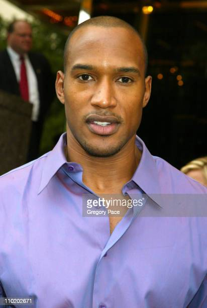 Henry Simmons during ABC 20042005 Upfront Arrivals at Midtown Hotel and Cipriani's in New York City New York United States