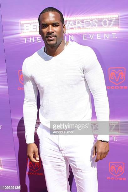 Henry Simmons during BET Awards 2007 - Black Carpet at Shrine Auditorium in Los Angeles, California, United States.